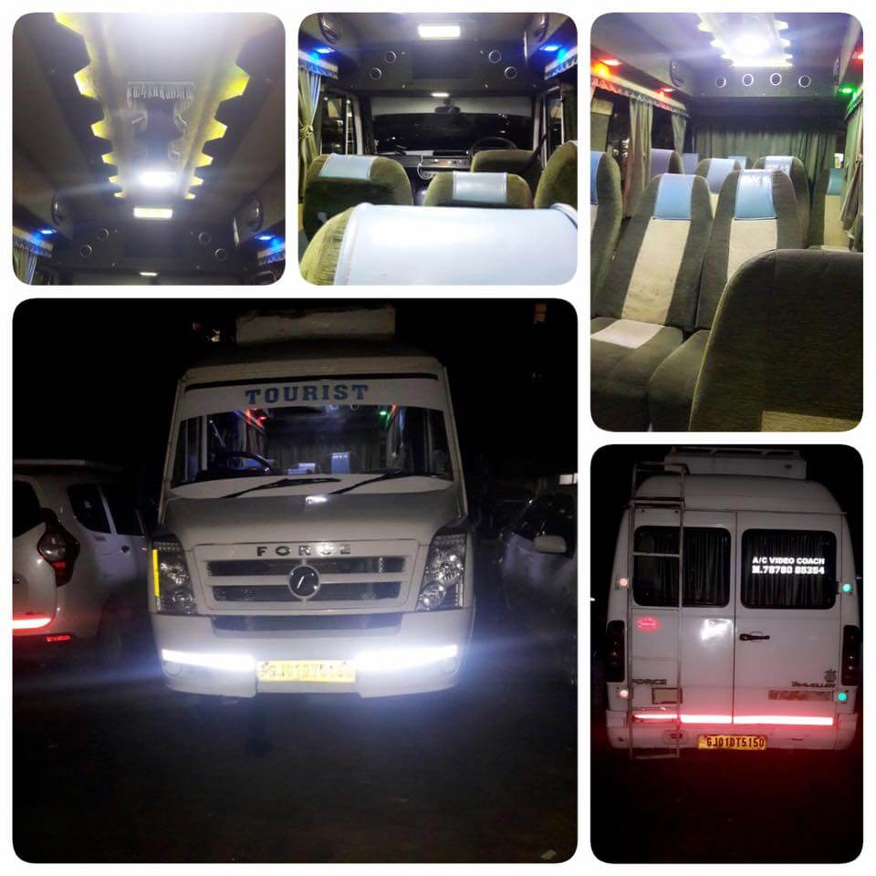 Hire Tempo Traveller in Ahmedabad