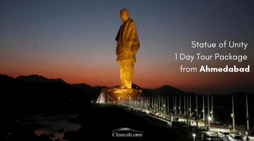 Statue of Unity 1 Day Tour Package from Ahmedabad