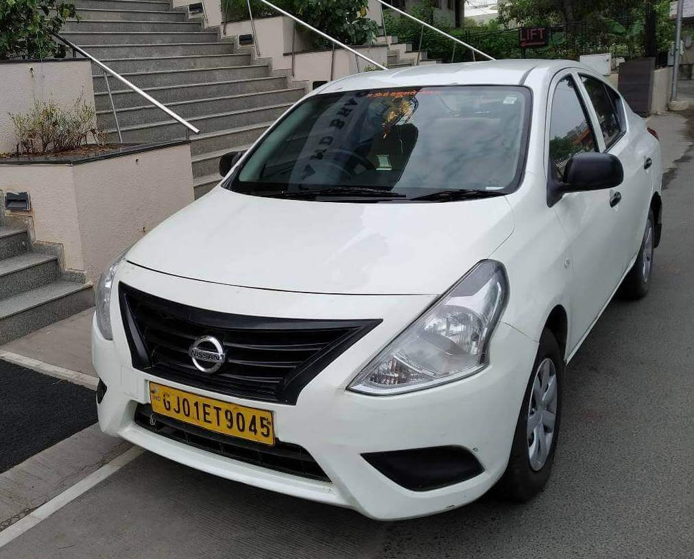 Hire Nissan Sunny in Ahmedabad