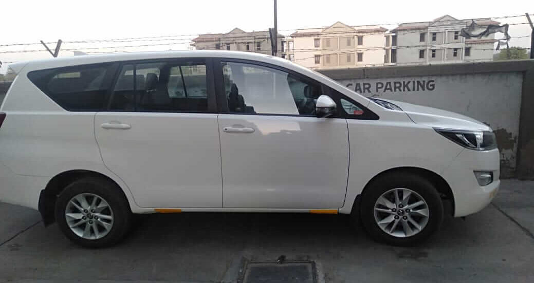 Toyota Innova Crysta on Rent in Ahmedabad
