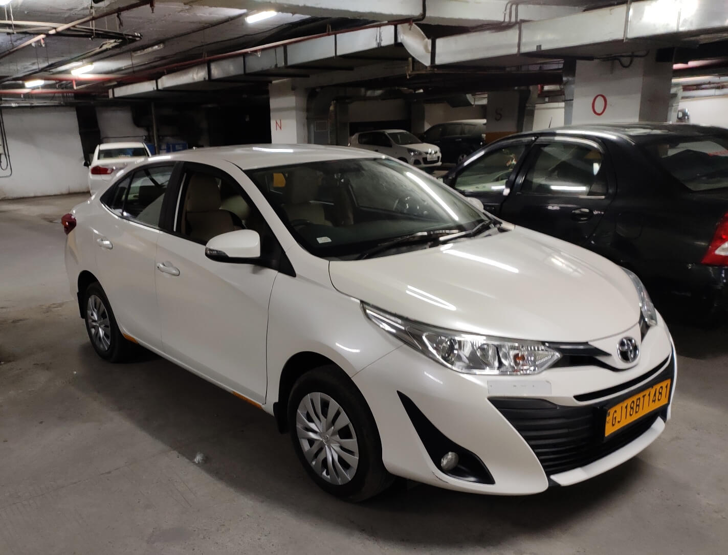 Toyota Yaris on Rent in Ahmedabad
